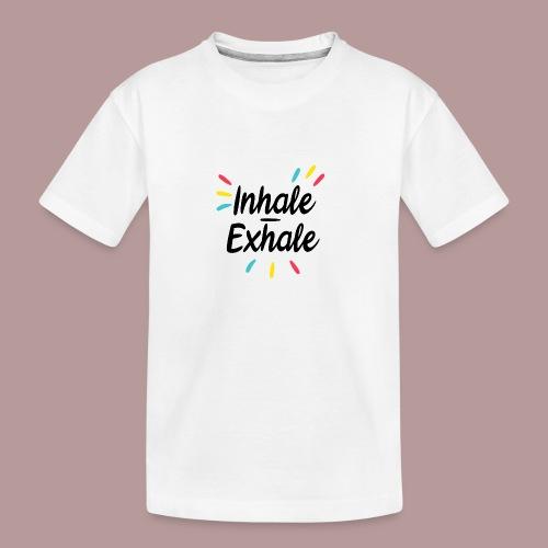 Inhale exhale yoga namaste - T-shirt bio Premium Ado