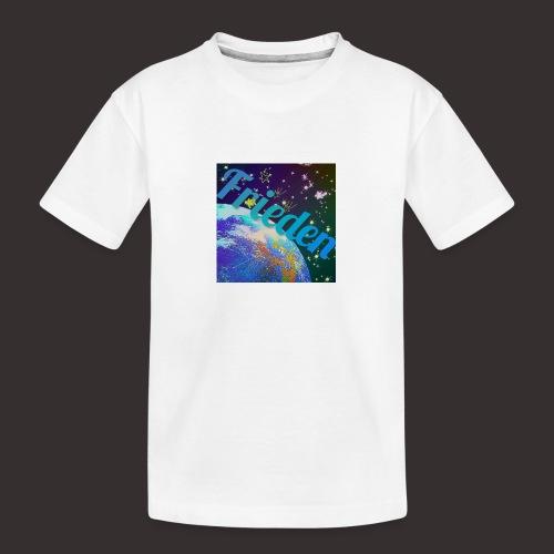 WeltFrieden - Teenager Premium Bio T-Shirt