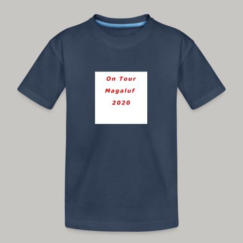 On Tour In Magaluf, 2020 - Printed T Shirt - Teenager Premium Organic T-Shirt
