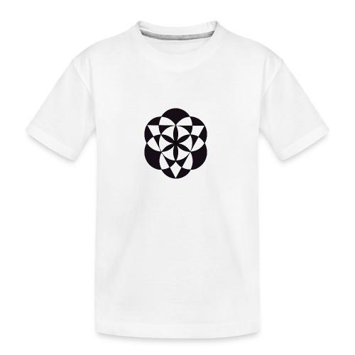 diseño de figuras geométricas - Camiseta orgánica premium adolescente