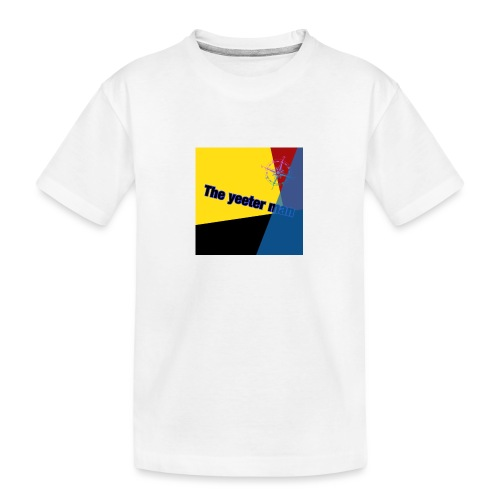 yeet - Ekologisk premium-T-shirt tonåring