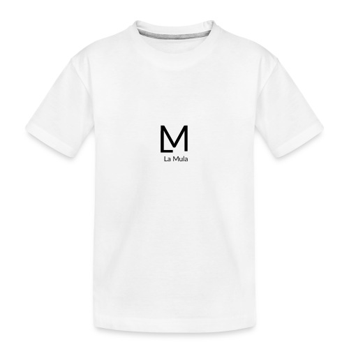 Clàssic - Camiseta orgánica premium adolescente