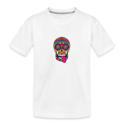 Mexican Skull - Maglietta ecologica premium per ragazzi