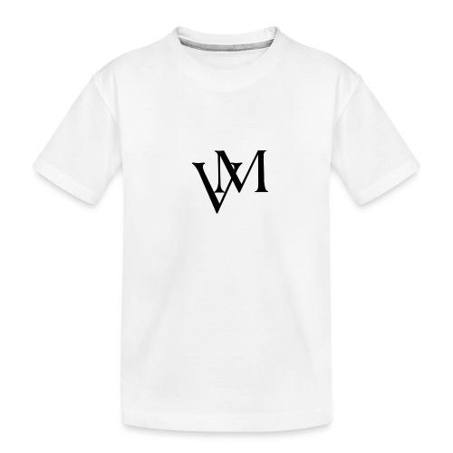 Lettere VM - Maglietta ecologica premium per ragazzi