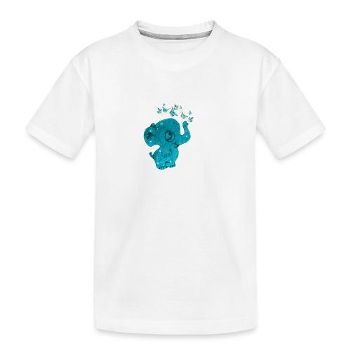 Elefante - Maglietta ecologica premium per ragazzi
