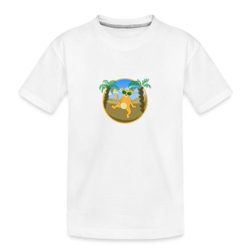 Der Kleine Partylöwe - Teenager Premium Bio T-Shirt