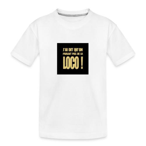 badgeloco - T-shirt bio Premium Ado