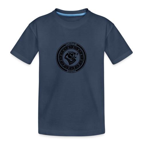 BjornfellRisingBlack - Teinien premium luomu-t-paita