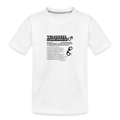 Vrijgezellenshirt man - Teenager premium biologisch T-shirt