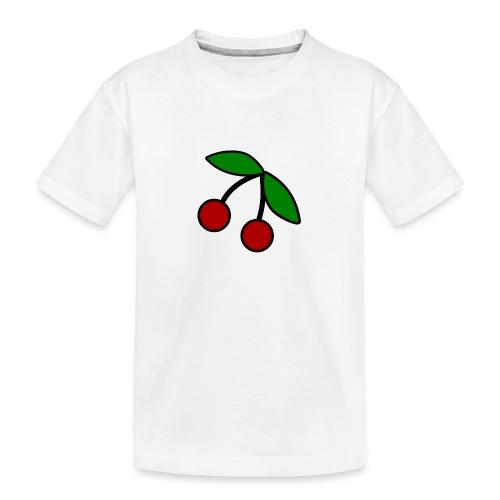 onlinelogomaker-072416-10 - Teenager Premium Bio T-Shirt
