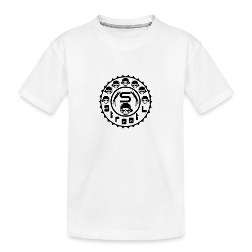 rawstyles rap hip hop logo money design by mrv - Ekologiczna koszulka młodzieżowa Premium