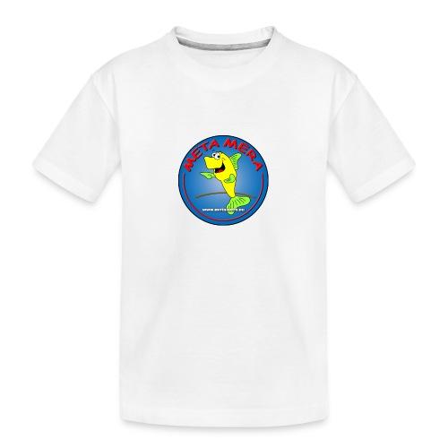 metamera_fish - Ekologisk premium-T-shirt tonåring