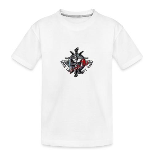 Blood Skull Logo - Ekologisk premium-T-shirt tonåring