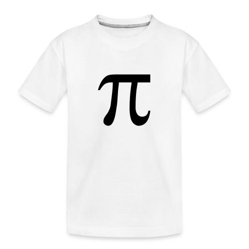 pisymbol - Teenager premium biologisch T-shirt