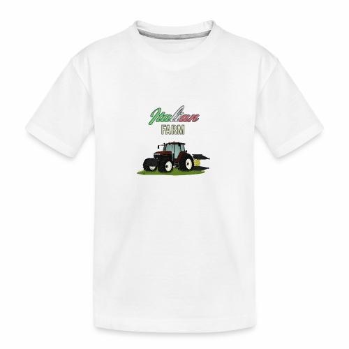 Italian Farm official T-SHIRT - Maglietta ecologica premium per ragazzi