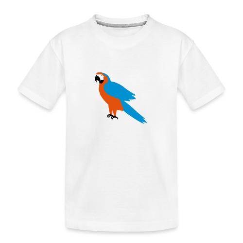 Parrot - Maglietta ecologica premium per ragazzi
