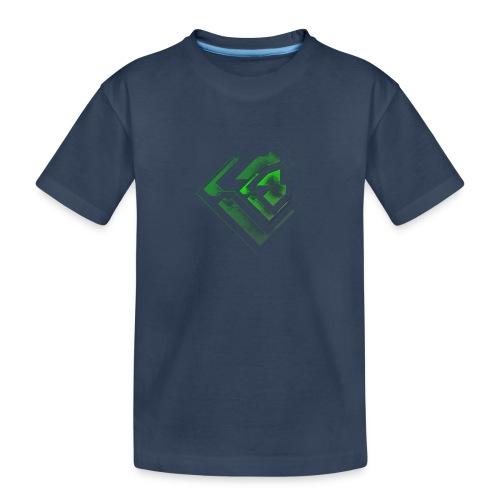 BRANDSHIRT LOGO GANGGREEN - Teenager premium biologisch T-shirt