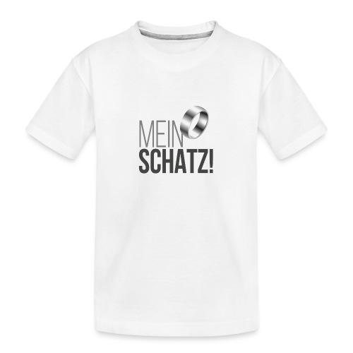 Mein Schatz! - Teenager Premium Bio T-Shirt