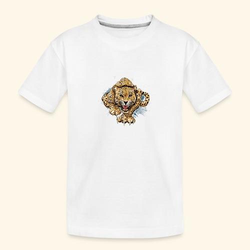Leopardo KutuXa - Camiseta orgánica premium adolescente