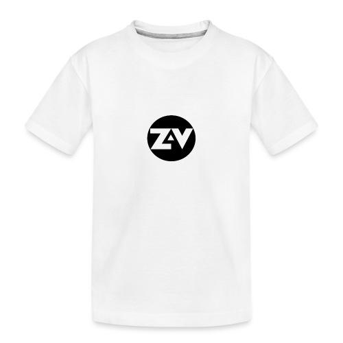 Zvooka Records Logo - Teenager Premium Organic T-Shirt
