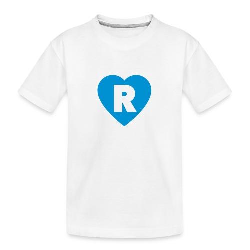 cuoRe - Maglietta ecologica premium per ragazzi