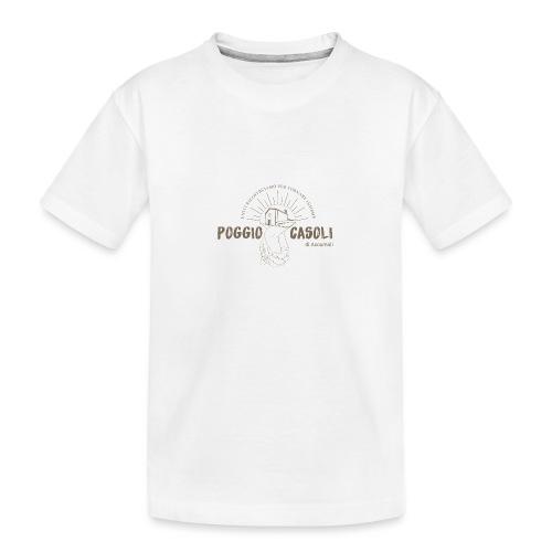 Poggio Casoli_Istituzionale - Maglietta ecologica premium per ragazzi