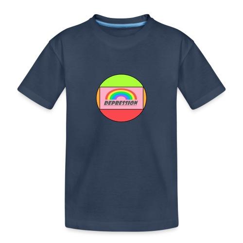 Depressed design - Teenager Premium Organic T-Shirt