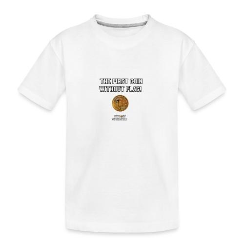 Coin with no flag - Maglietta ecologica premium per ragazzi
