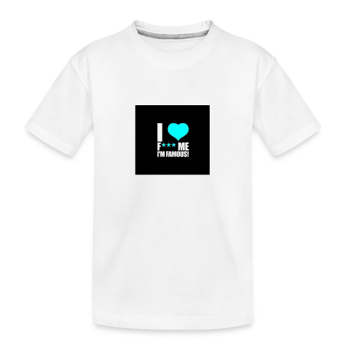 I Love FMIF Badge - T-shirt bio Premium Ado