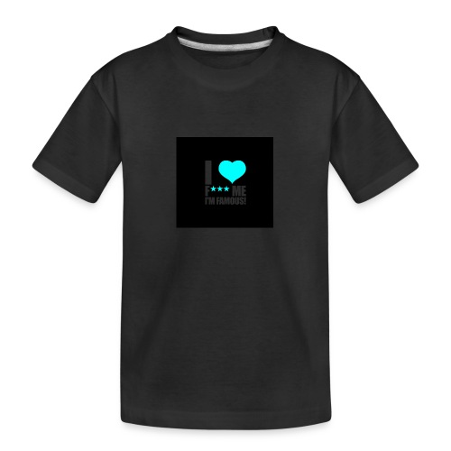 I Love FMIF Badge - T-shirt bio Premium Ado