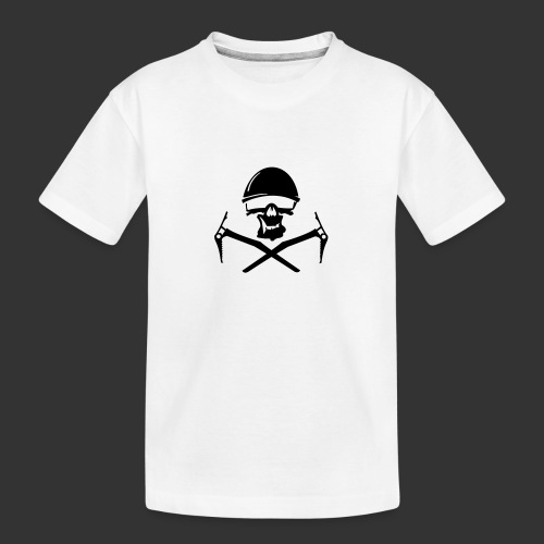 Climbing Skull - Teenager Premium Bio T-Shirt