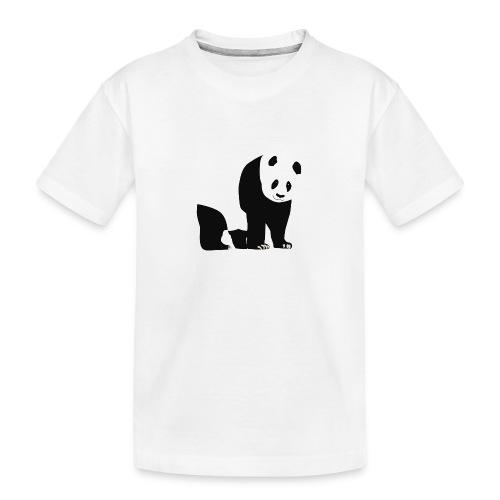 Panda - Teinien premium luomu-t-paita