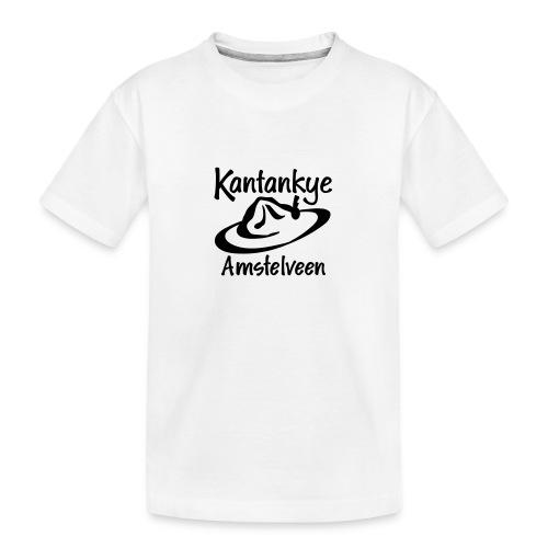 logo naam hoed amstelveen - Teenager premium biologisch T-shirt