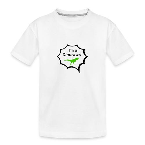 I¨m a dinorawr - Ekologisk premium-T-shirt tonåring