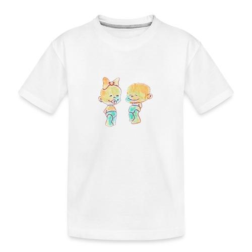 Bambini innamorati - Maglietta ecologica premium per ragazzi