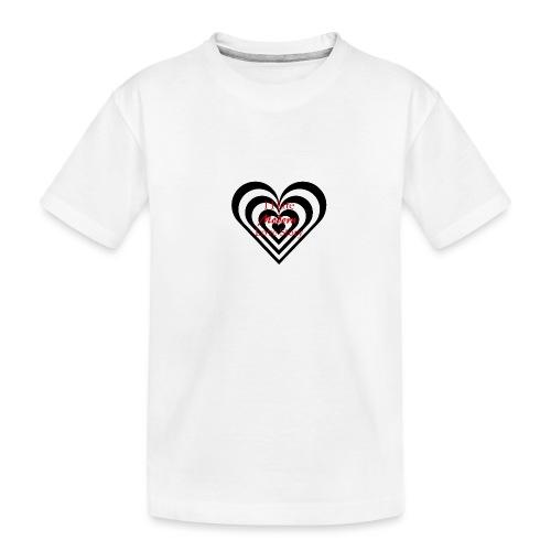 i hate modern love story - Maglietta ecologica premium per ragazzi