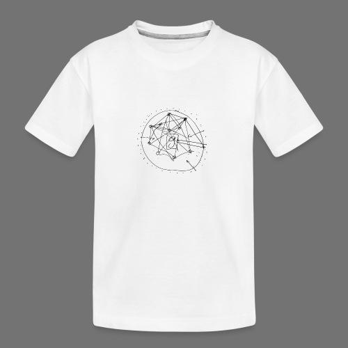 SEO strategia No.1 (musta) - Teinien premium luomu-t-paita