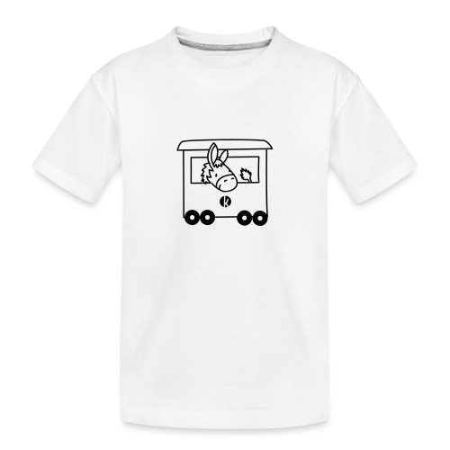 Esel Transport - Donkey Transport - Teenager Premium Bio T-Shirt