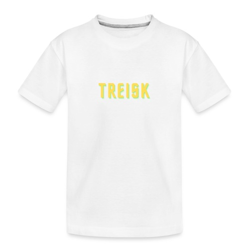 treisk - Teenager premium T-shirt økologisk