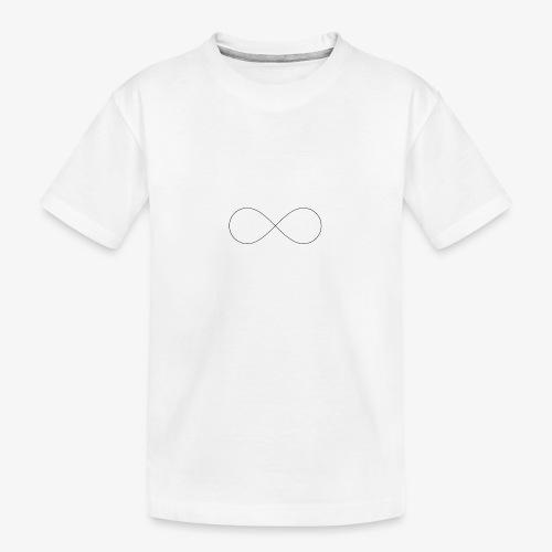 Like the infinity - Maglietta ecologica premium per ragazzi