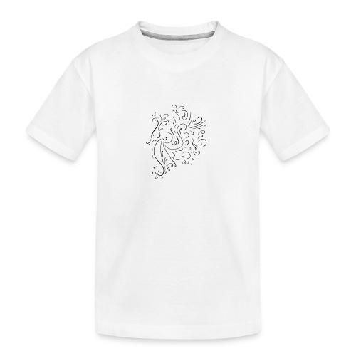 seahorse - Teenager Premium Organic T-Shirt