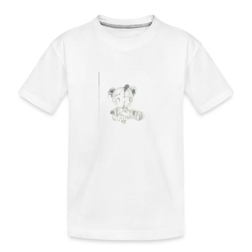 Broken teddybear - Teenager premium biologisch T-shirt