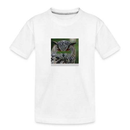JohannesB lue - Premium økologisk T-skjorte for tenåringer