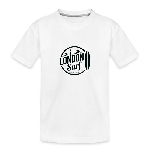 London Surf - Black - Teenager Premium Organic T-Shirt