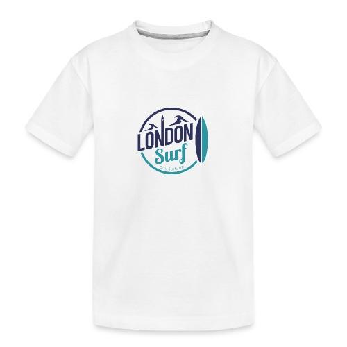 London Surf Classic Logo - Teenager Premium Organic T-Shirt