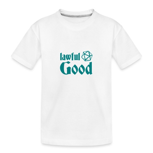 lawful good - Teenager Premium Organic T-Shirt