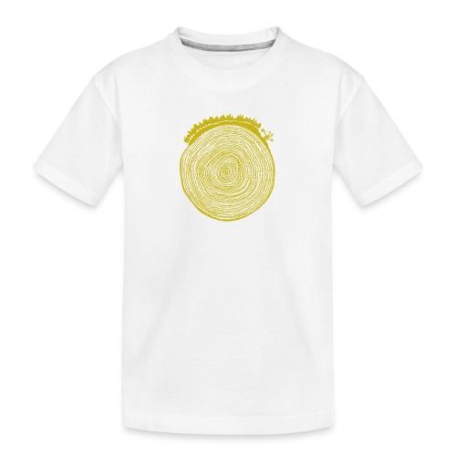 Kattoo Gelb - Teenager Premium Bio T-Shirt