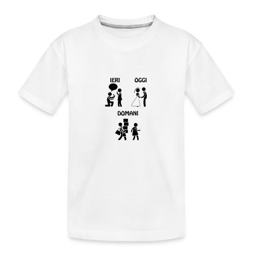 4 - Maglietta ecologica premium per ragazzi