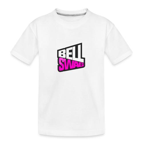 Bellswag logo transparent large - Teenager Premium Organic T-Shirt