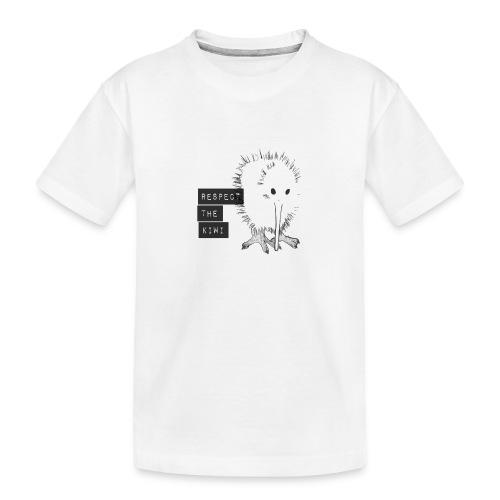 Respect the Kiwi - Teenager Premium Bio T-Shirt